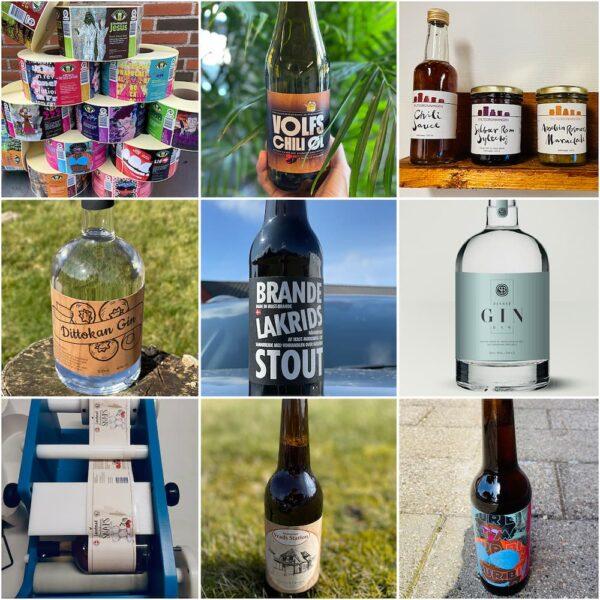 øl etiketter eksempler